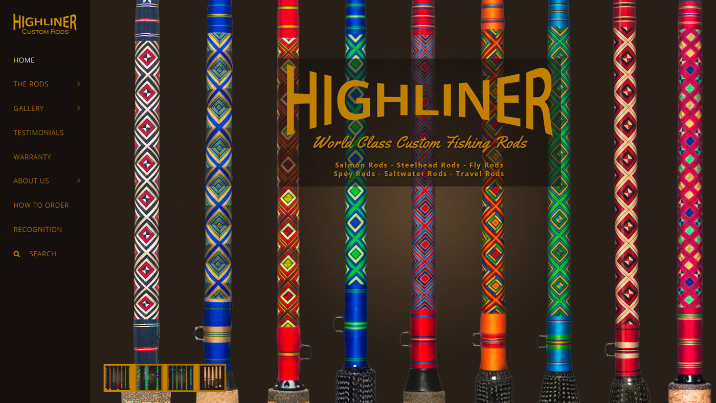 Highliner Custom Rods